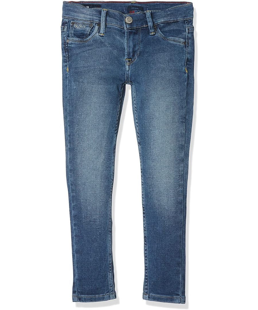 Image for Pepe Jeans Girls Slim Fit Jeans in Blue