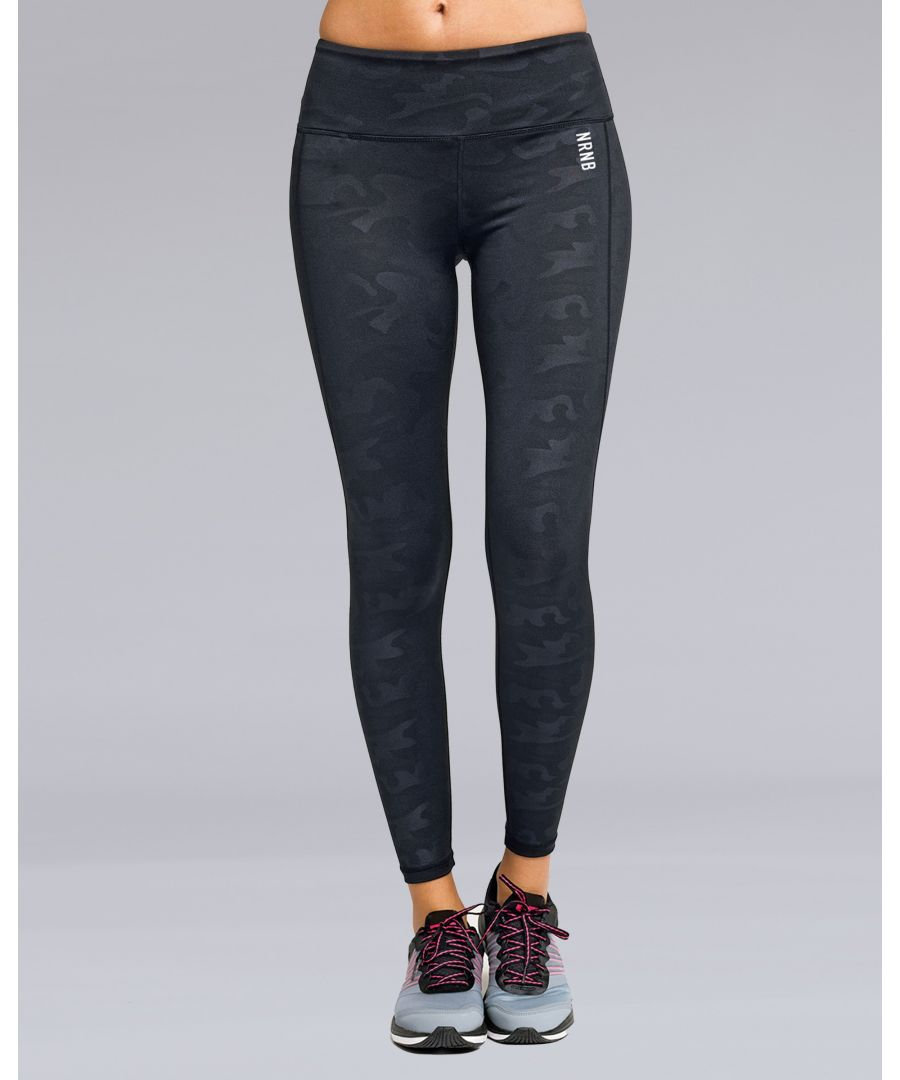 Image for Camo Print Leggings in Black