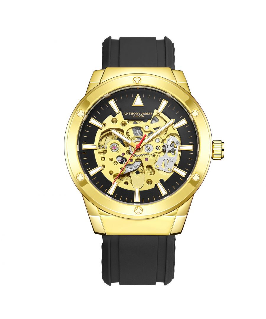 Image for Hand Assembled Anthony James Limited Edition Expedite Automatic Gold