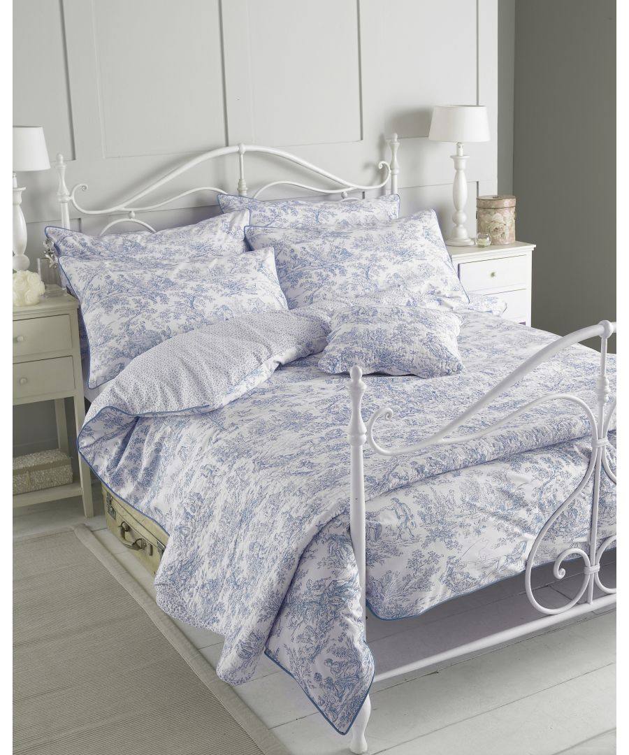Image for Canterbury Tales Duvet Set Blue