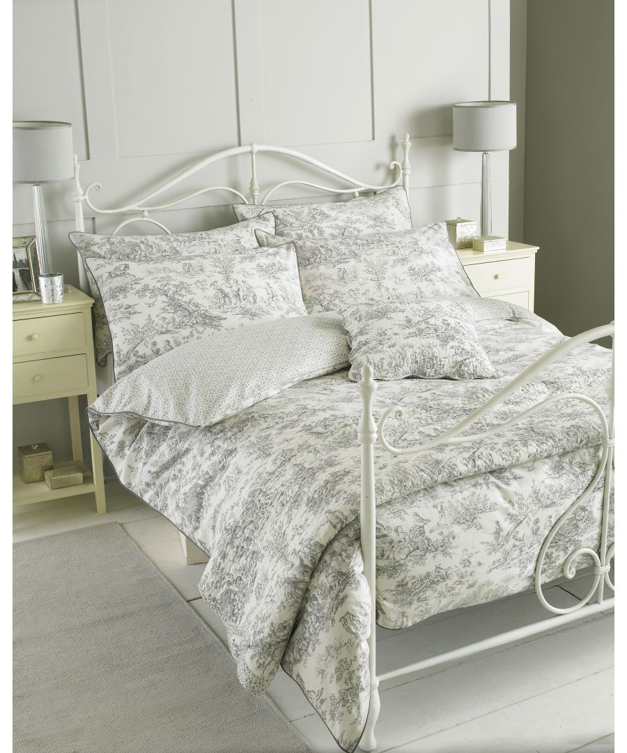 Image for Canterbury Tales Duvet Set Grey