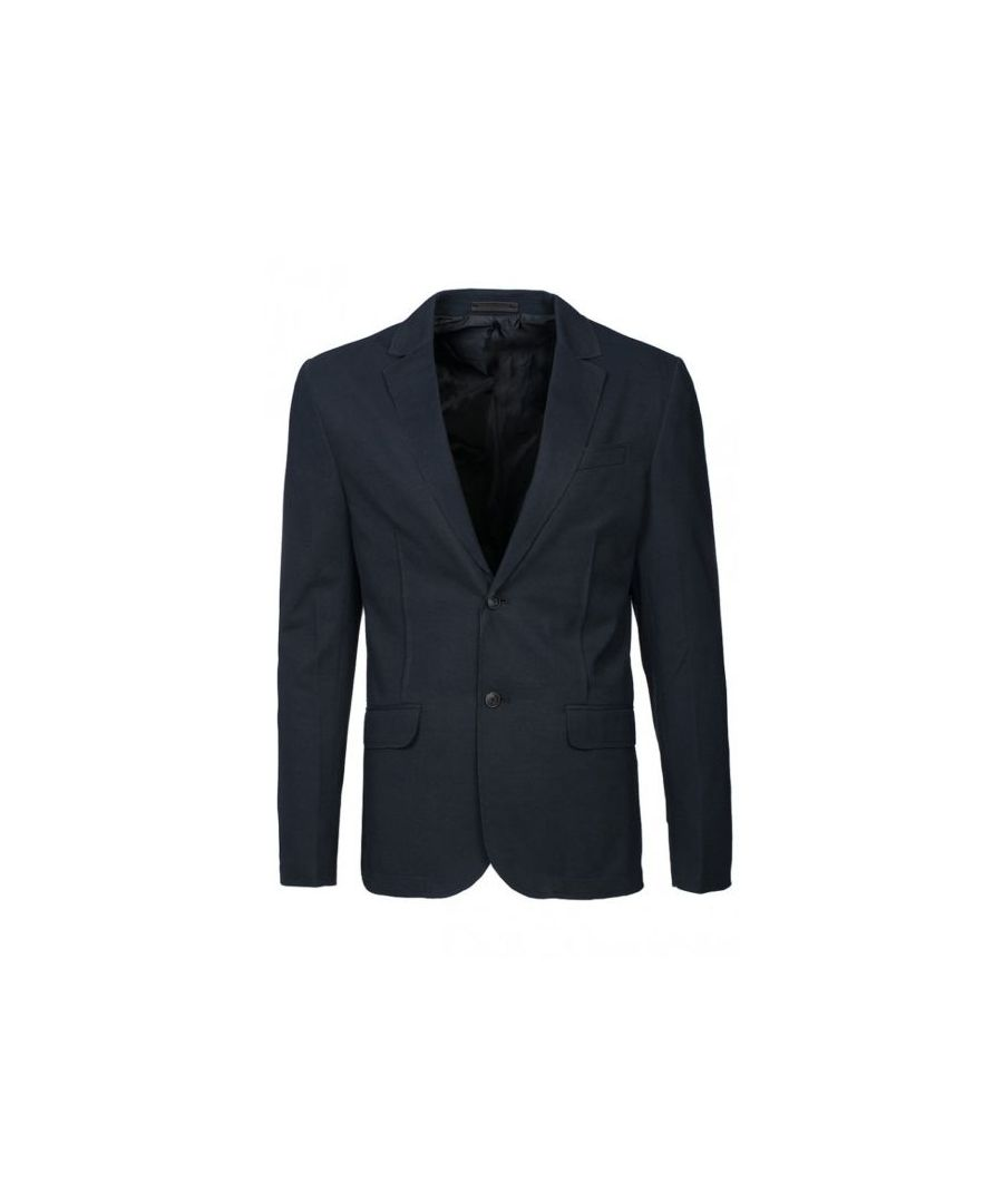 Image for Jack and Jones Carlos Blazer Navy Blue Jacket