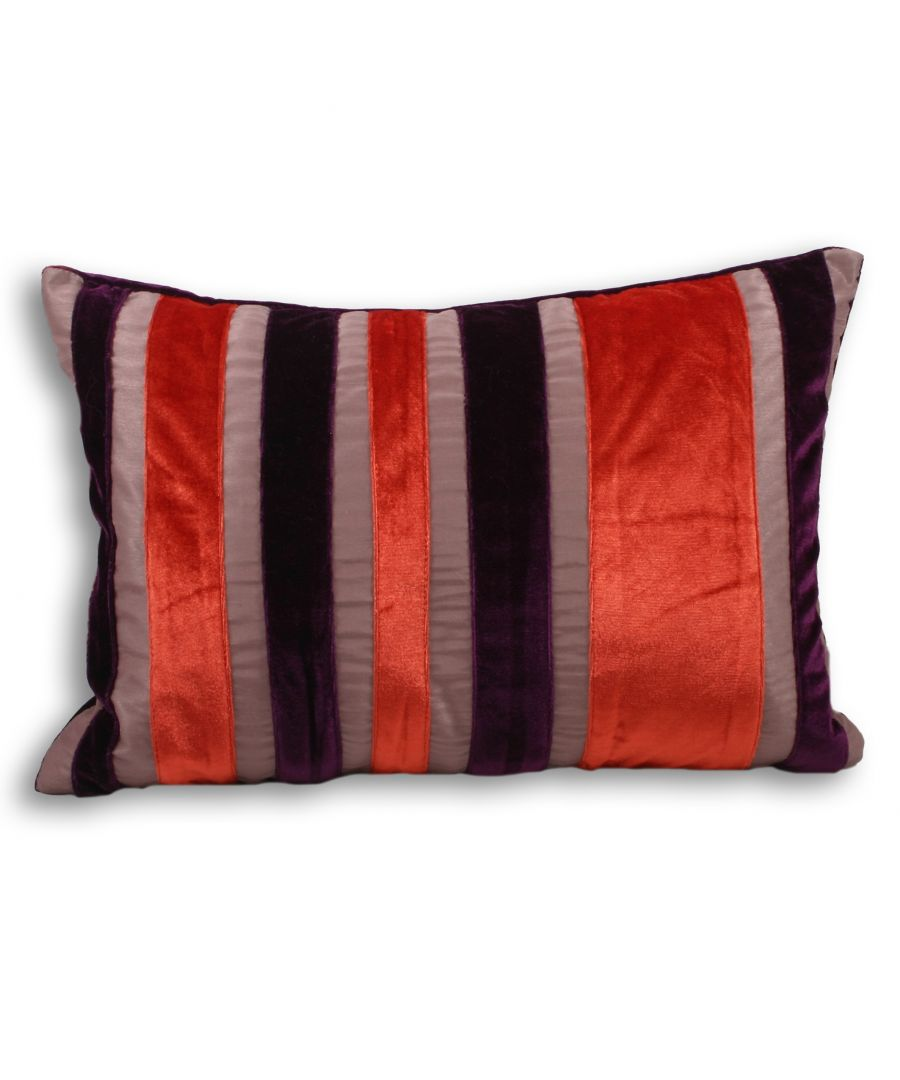 Image for Carnival Poly Cushion 35X50 Ppk/Purp