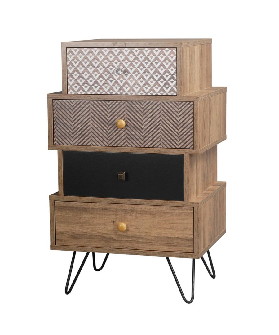 Image for Casablanca 4 Drawer Chest Brown