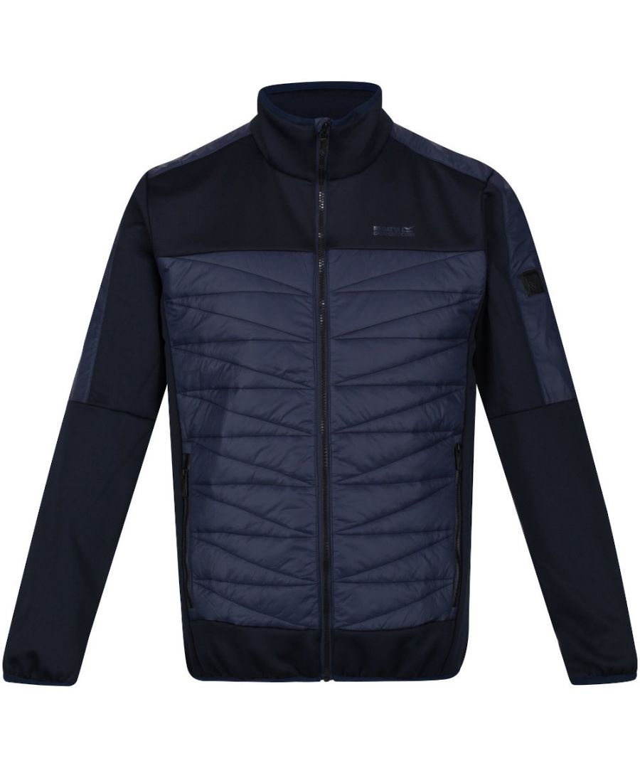 Image for Regatta Mens Clumber Ii Hybrid Durable Insulated Jacket
