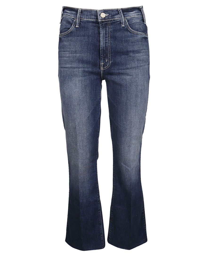 Image for MOTHER WOMEN'S 1117104 BLUE COTTON JEANS