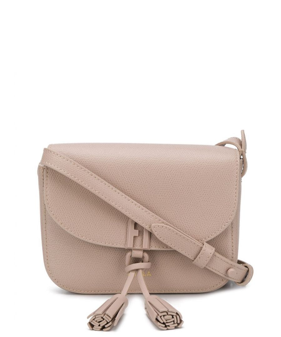 Image for FURLA WOMEN'S 1065196 BEIGE LEATHER SHOULDER BAG