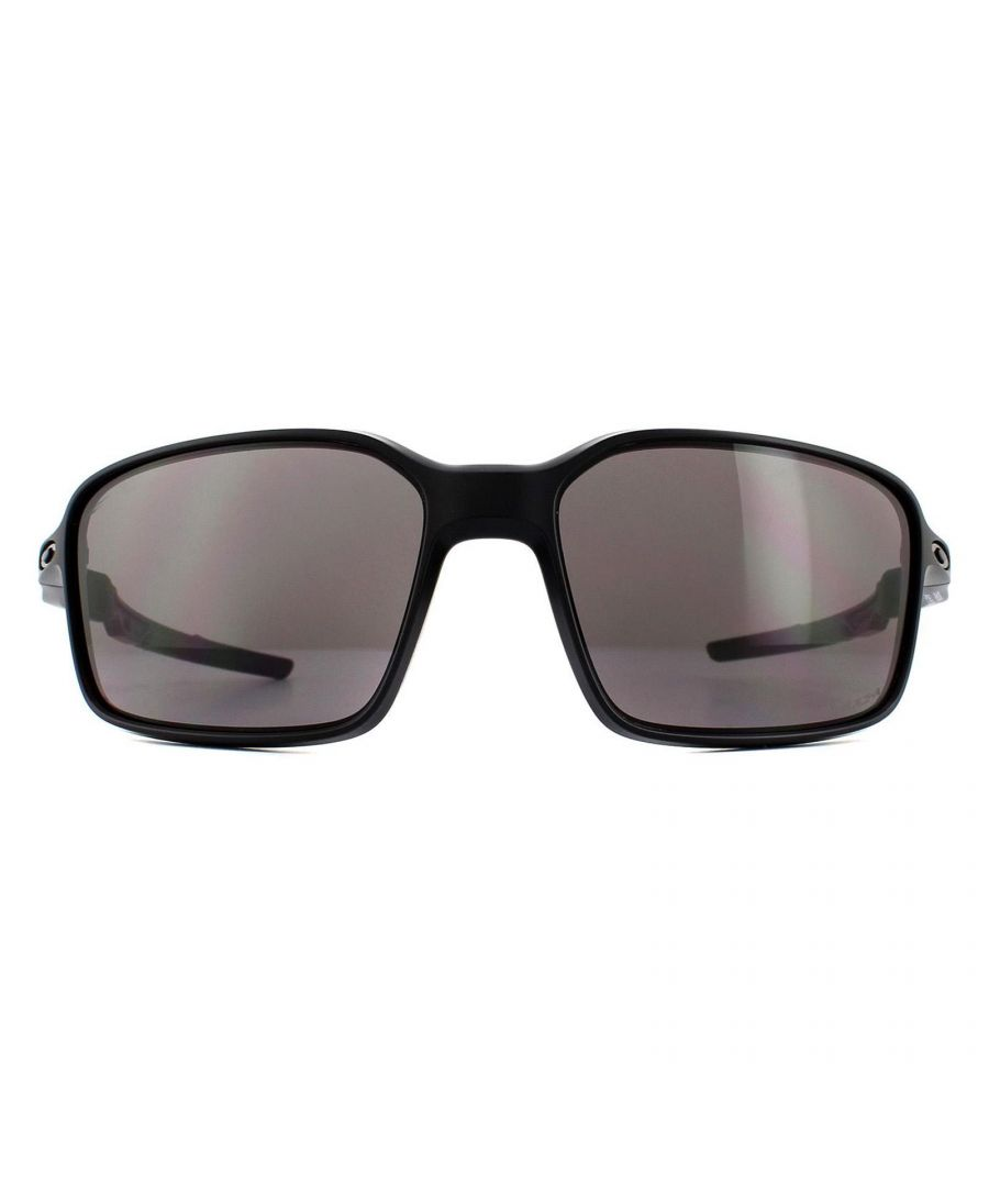 Image for Oakley Sunglasses Siphon OO9429-01 Matte Black Prizm Grey
