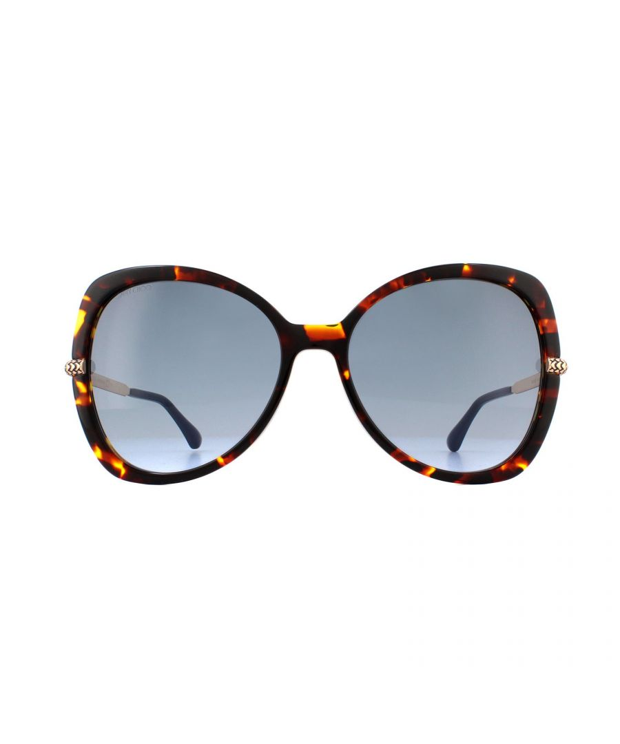 Image for Jimmy Choo Sunglasses CRUZ/G/S 086 GB Dark Havana Grey Azure