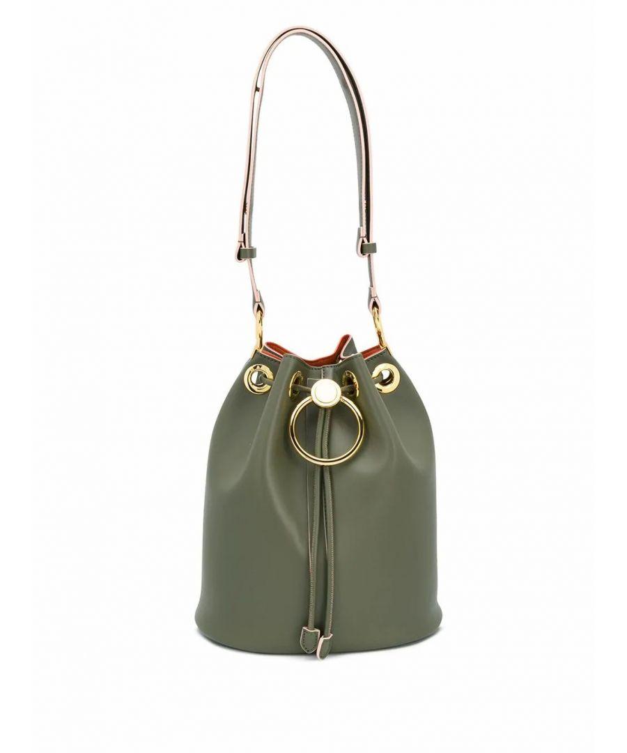 Image for MARNI WOMEN'S SCMP0020Y3LV58900V59 GREEN LEATHER SHOULDER BAG
