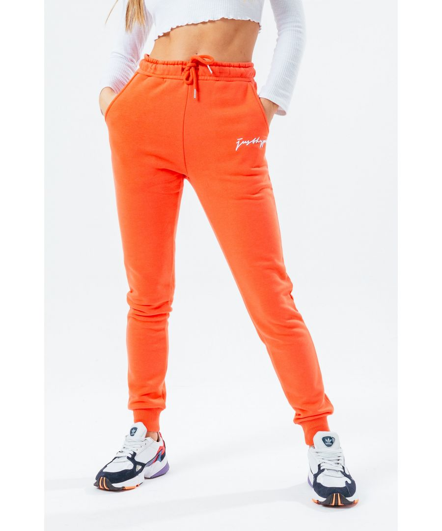 Image for Hype Coral Scribble Women'S Joggers