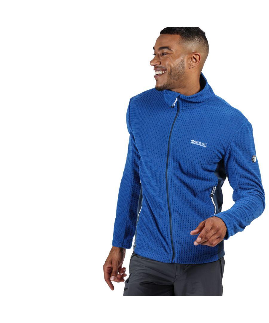 Image for Regatta Mens Highton Cotton Full Zip Fleece Jacket