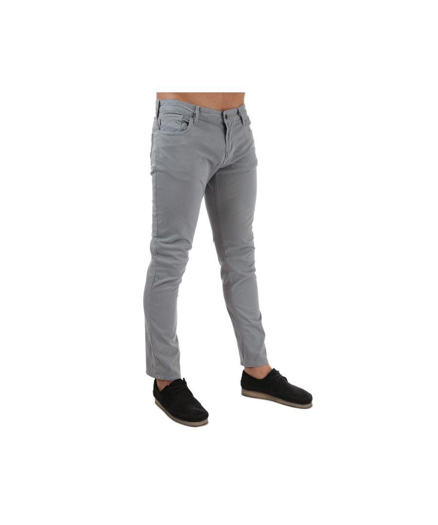Image for Men's Armani J06 Slim Fit Jeans in Grey