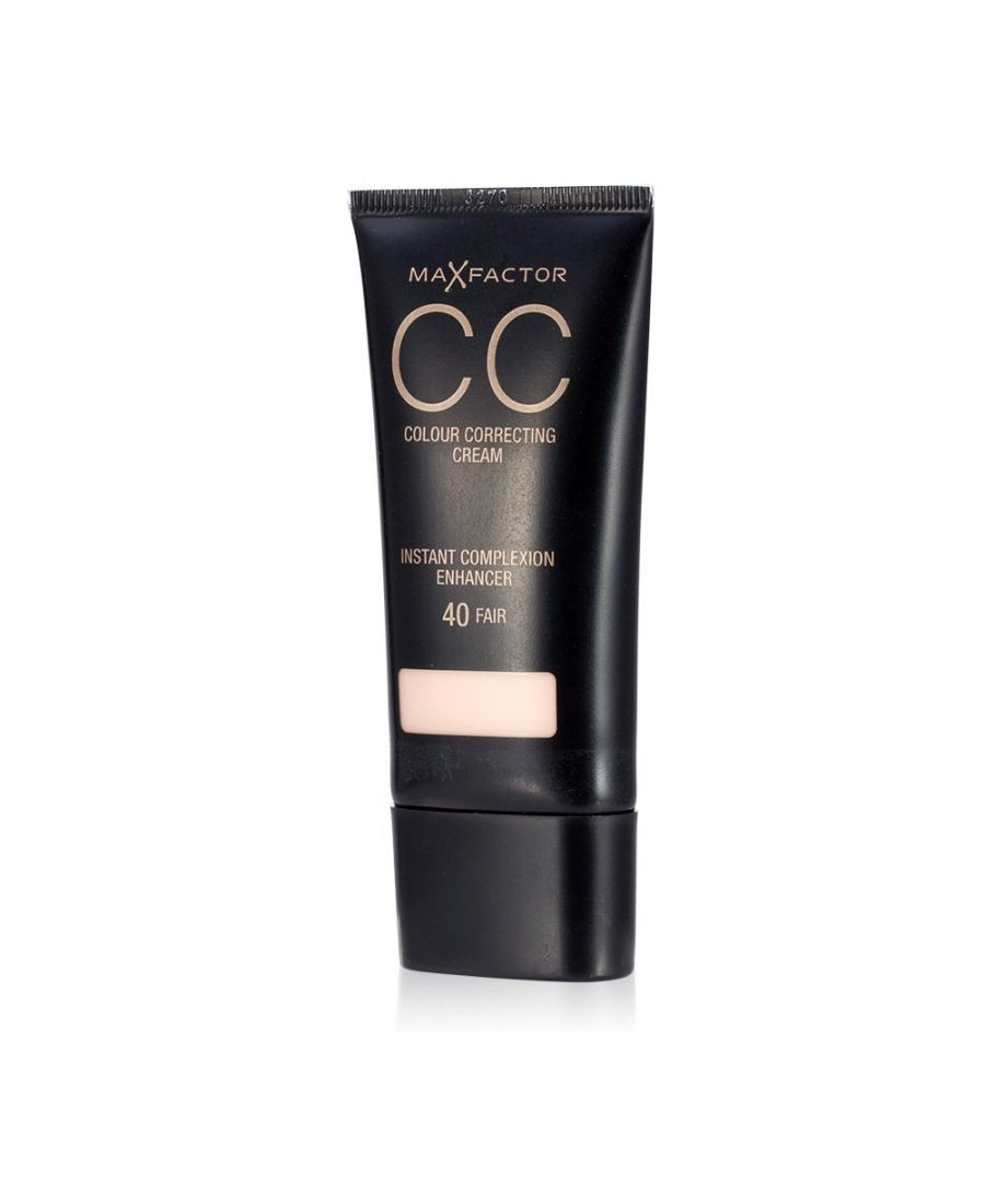 Image for Max Factor CC Colour Correcting Cream SPF10 30ml Sealed - 30 Light