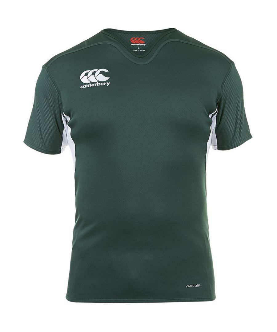 Image for Canterbury Mens Vapodri Challenge Wicking Rugby T Shirt