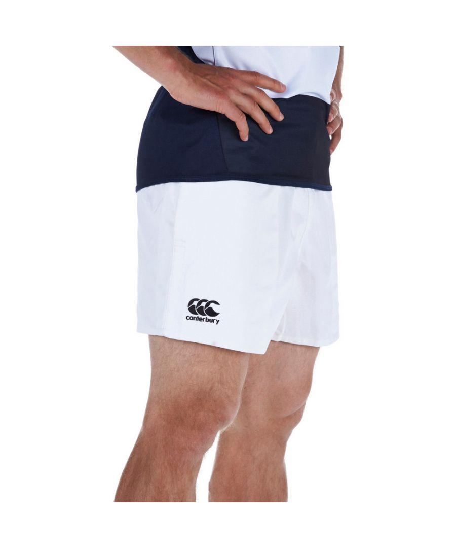 Image for Canterbury Mens Professional Polyester CCC Embroidered Logo Shorts