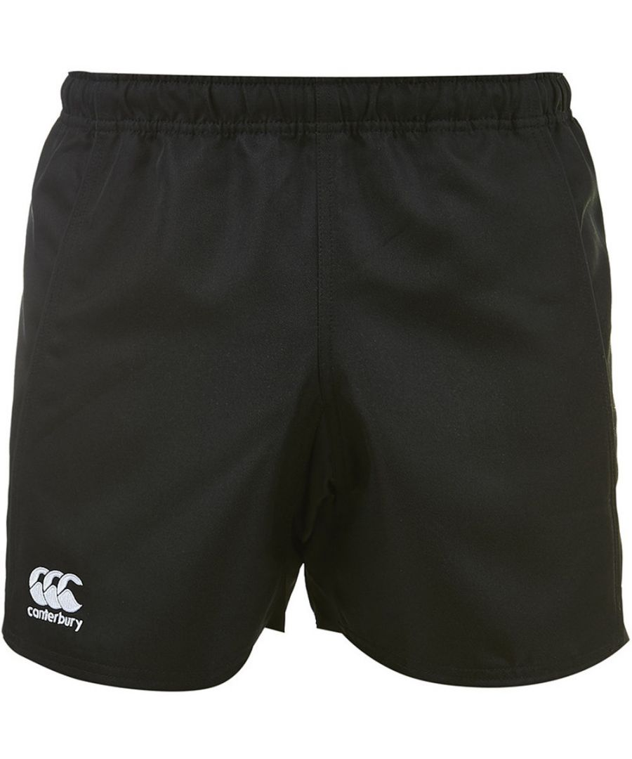 Image for Canterbury Mens Advantage Polyester CCC Embroidered Logo Shorts