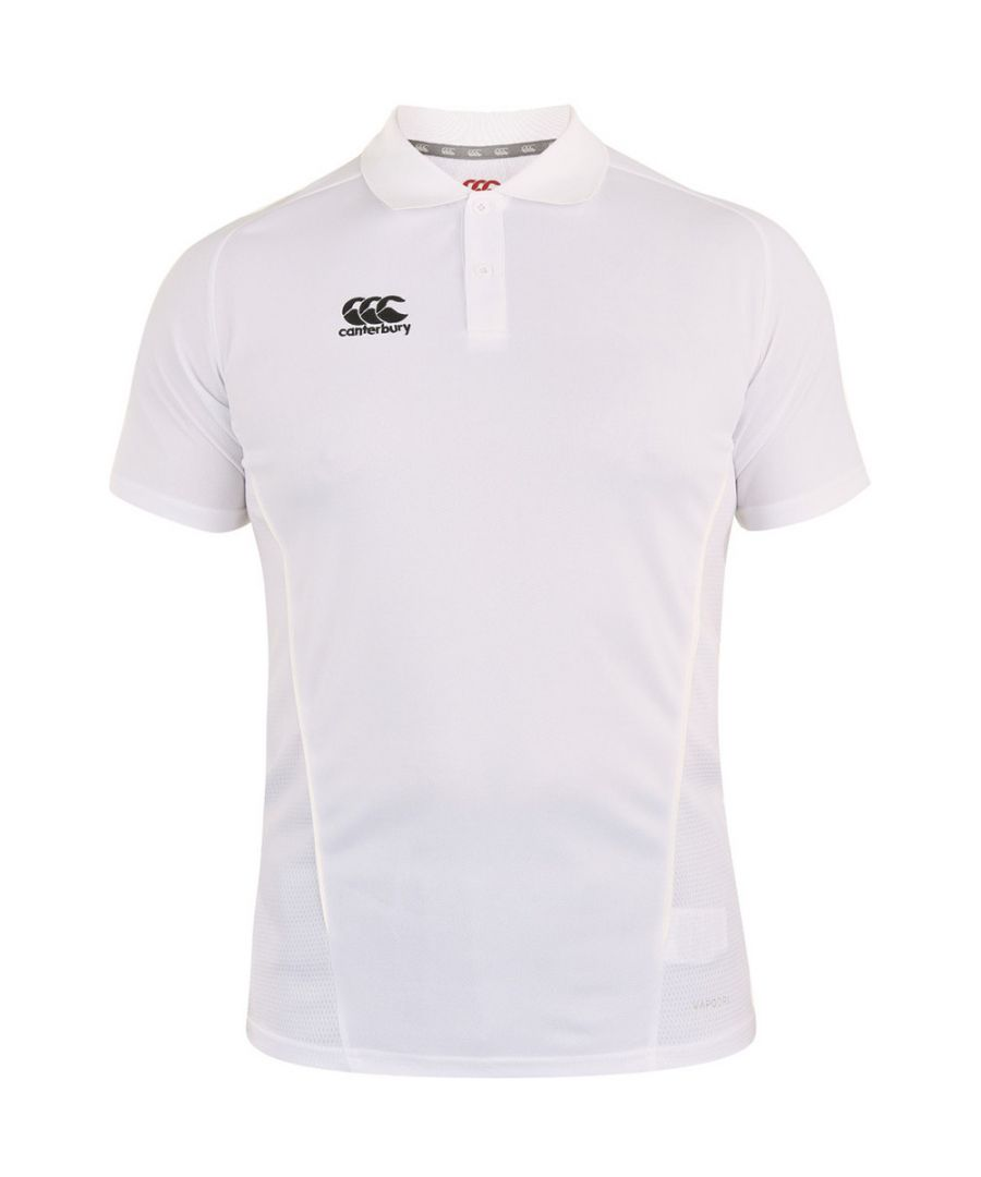 Image for Canterbury Mens Team Dry Moisture Wicking Polo Shirt