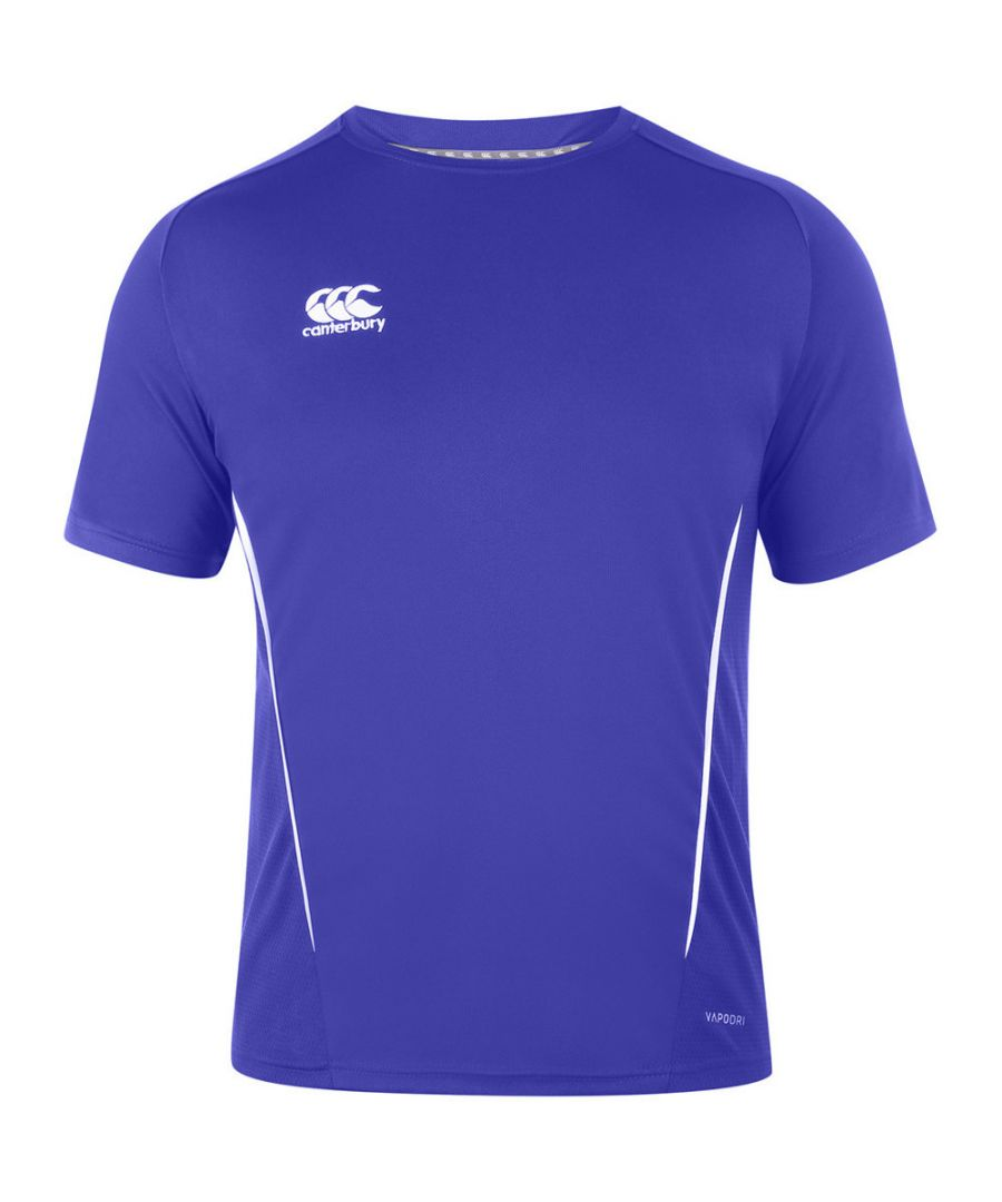 Image for Canterbury Mens Team Dry Moisture Wicking Active T Shirt