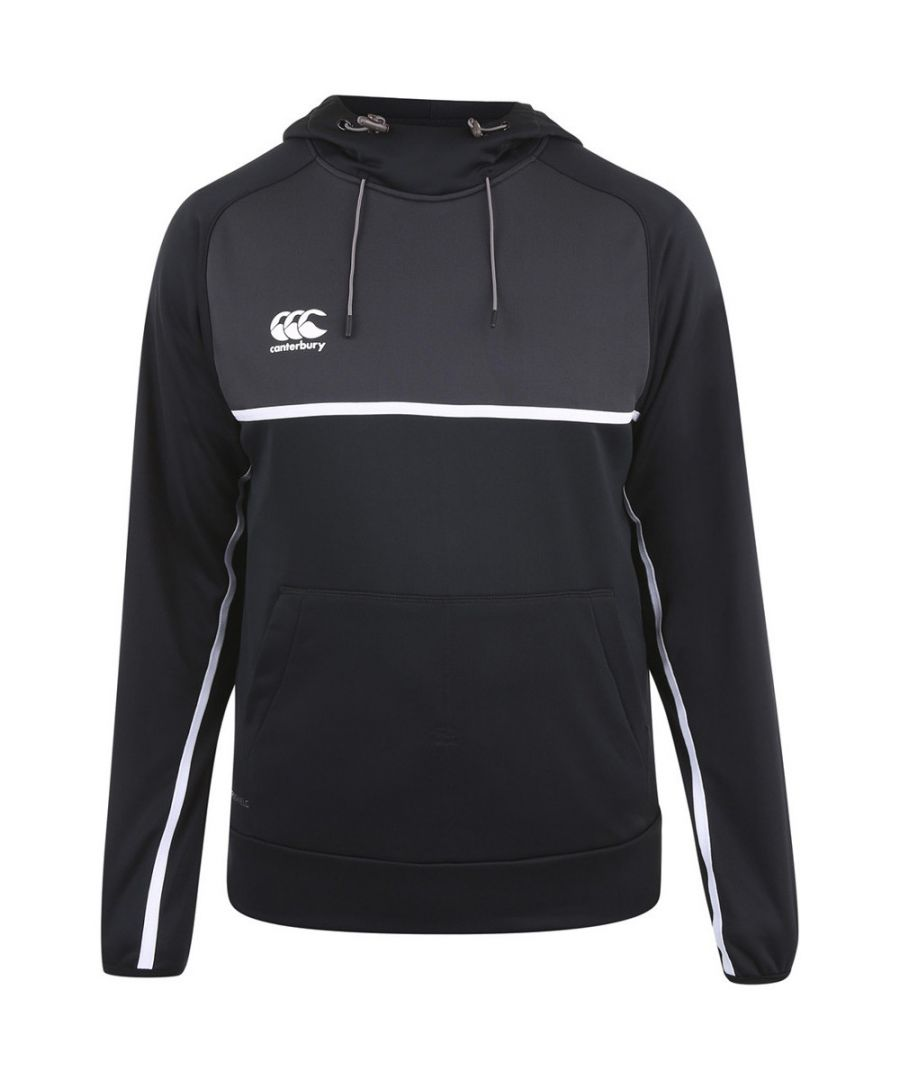 Image for Canterbury Mens Pro Hoody Moisture Wicking Active Hoodie Top