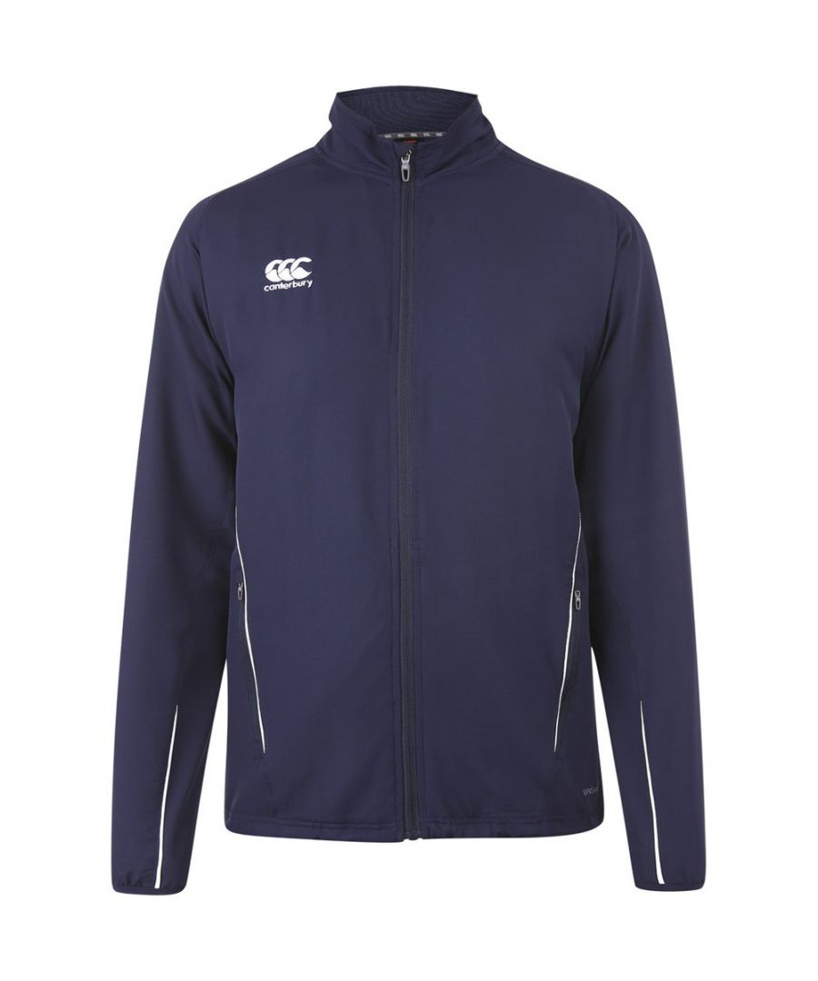 Image for Canterbury Mens Team Track Full Zip Tracksuit Jacket