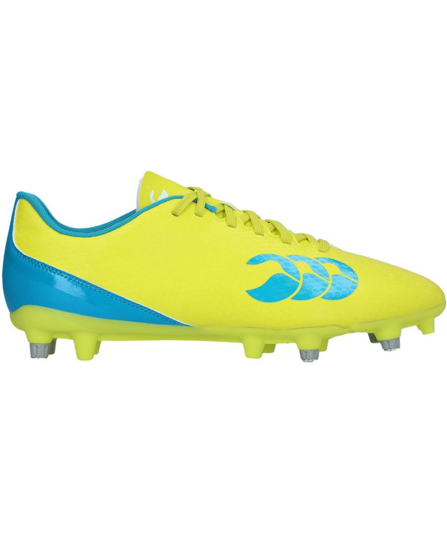 Image for Canterbury Clothing Mens Speed 2.0 Soft PU CCC Logoed Rugby Boots
