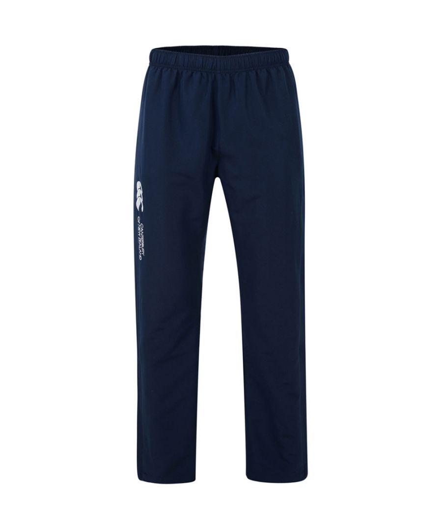 Image for Canterbury Mens Open Hem Stadium Side Zip Sweatpant Trousers