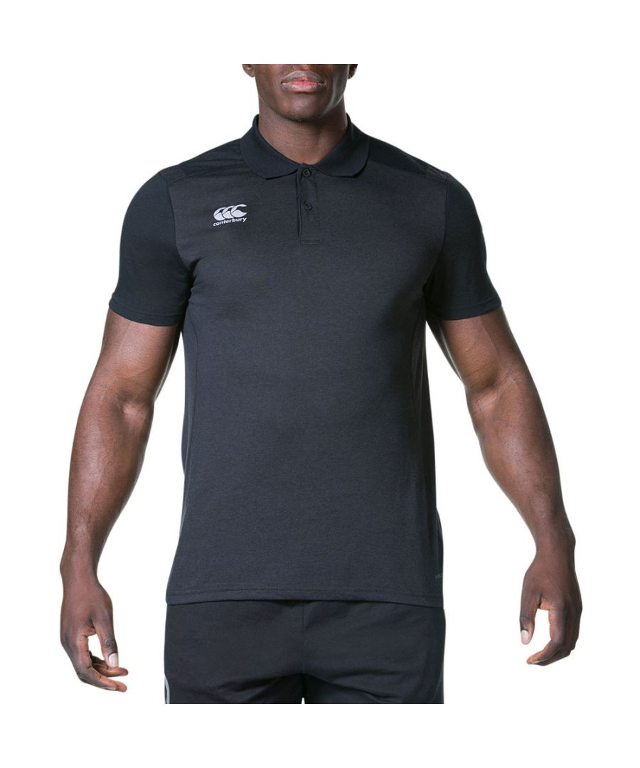 Image for Canterbury Mens Pro Dry Active Athletic Technical Polo Shirt