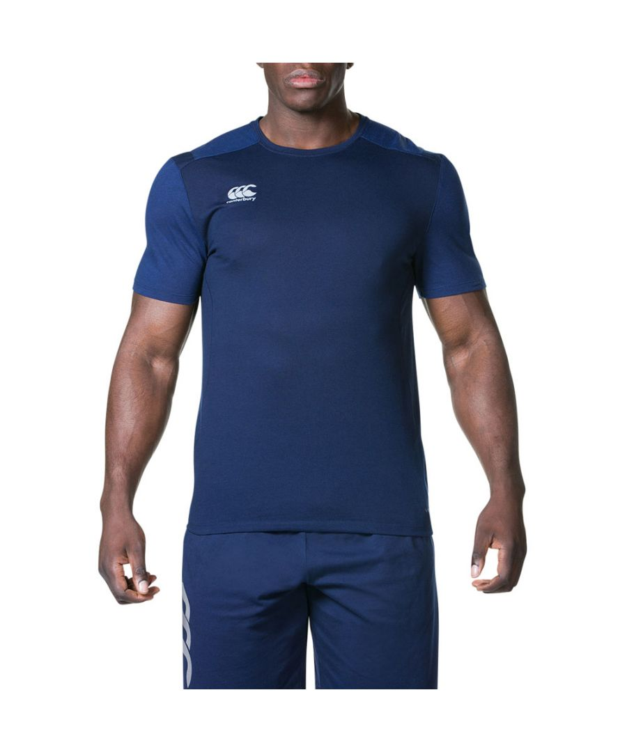Image for Canterbury Mens Pro Dry Active Reflective Athletic T-Shirt