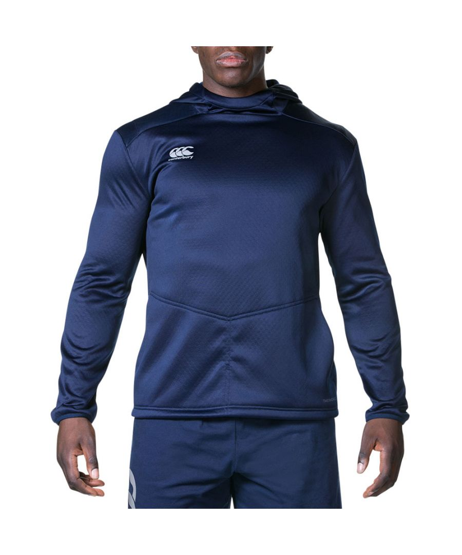 Image for Canterbury Mens Pro Active Athletic Technical Hooded Jersey