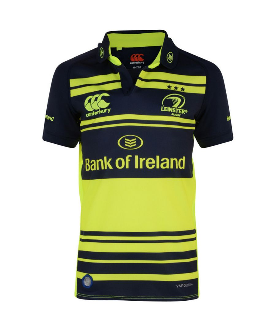 Image for Canterbury Boys Leinster Alternate Pro Wicking Breathable Rugby Shirt