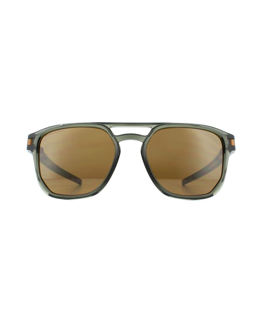 Image for Oakley Sunglasses Latch Beta OO9436-03 Olive Ink Prizm Tungston