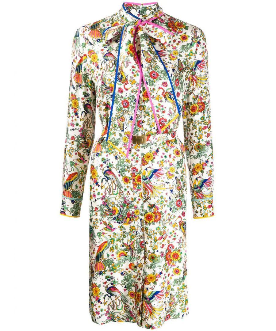 Image for TORY BURCH WOMEN'S 61896962 MULTICOLOR SILK DRESS