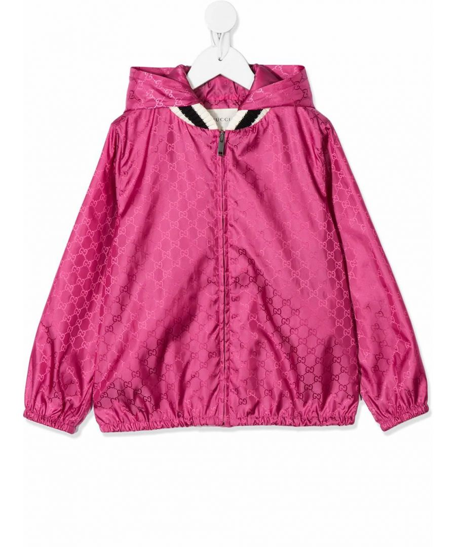 Image for GUCCI GIRLS 499517XBC695535 FUCHSIA POLYAMIDE OUTERWEAR JACKET