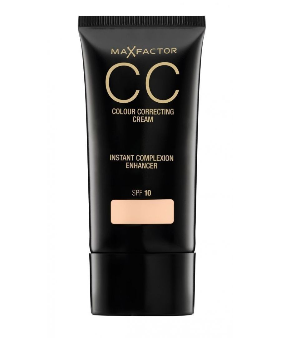Image for Max Factor CC Colour Correcting Cream SPF10 30ml Sealed - 60 Medium