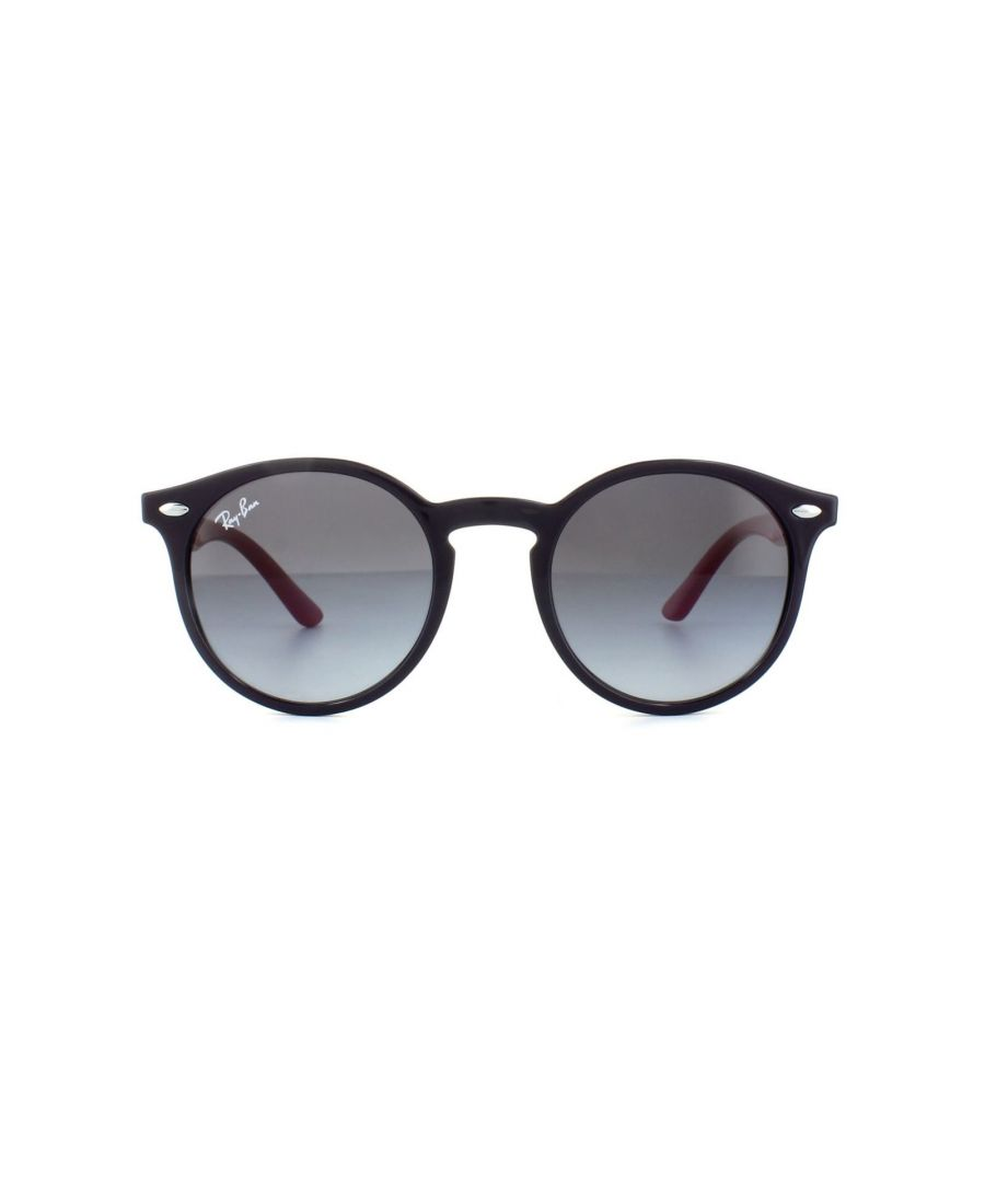 Image for Ray-Ban Junior Sunglasses 9064 70218G Violet Red Grey Gradient