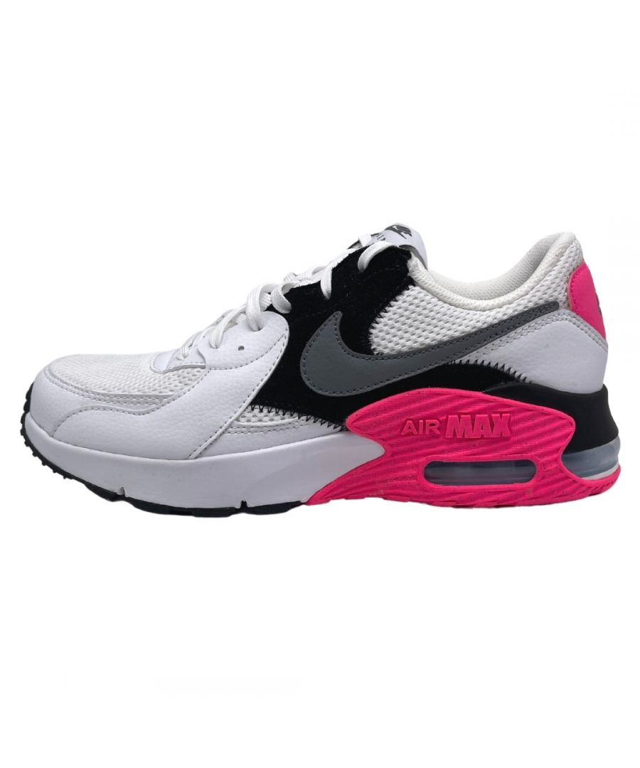 Image for Nike Air Max Excee White Pink Sneakers