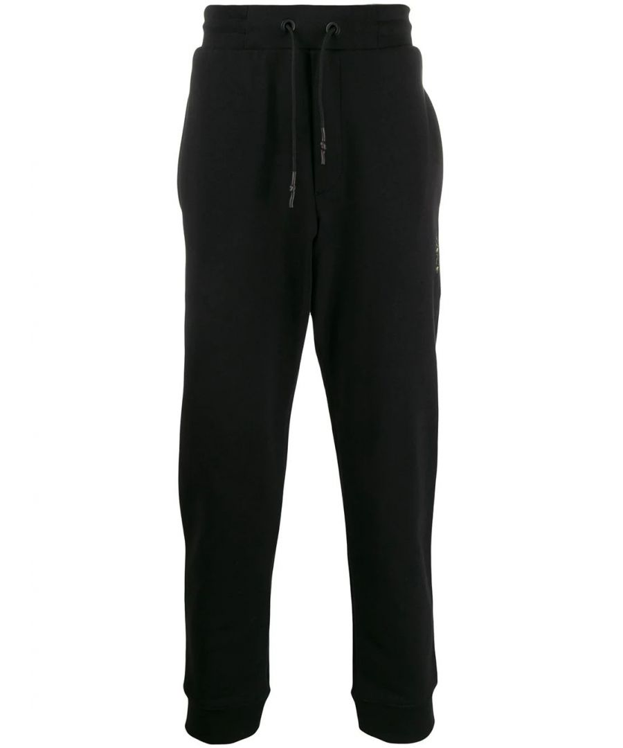 Image for MCQ BY ALEXANDER MCQUEEN MEN'S 360854ROT401000 BLACK COTTON JOGGERS