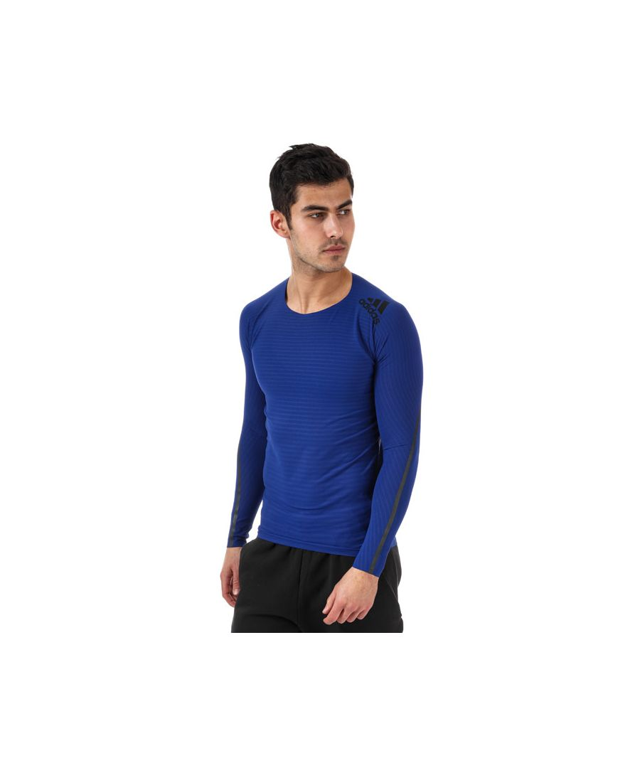 Image for Men's adidas Alphaskin 360 T-Shirt in Navy