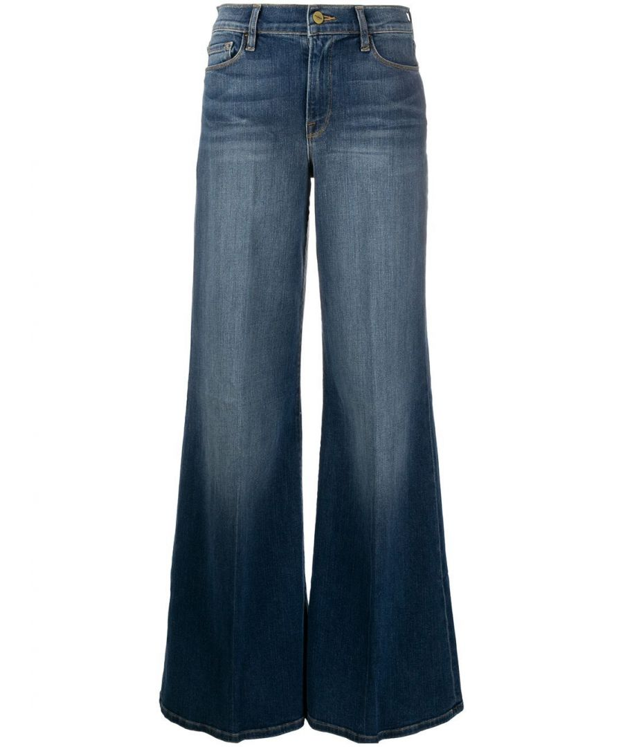 Image for FRAME WOMEN'S LPP793BLENDON BLUE COTTON JEANS
