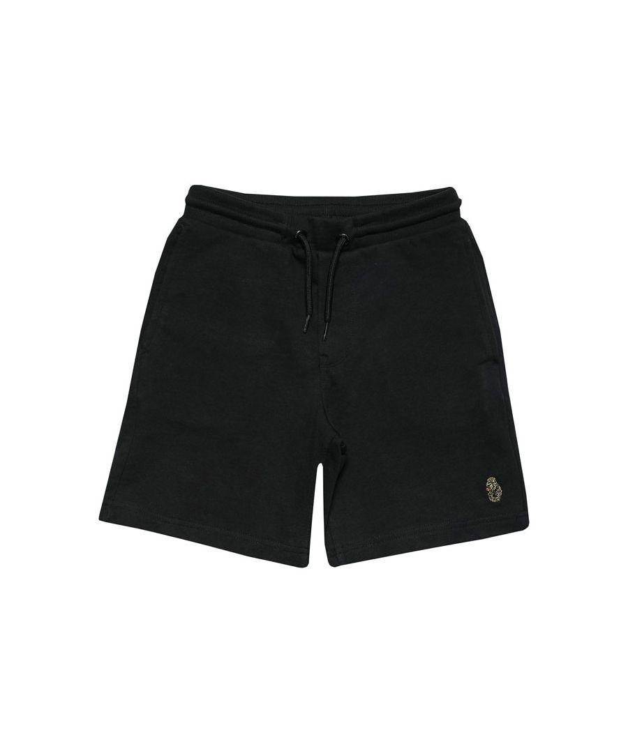 Image for Boys' Luke 1977 Infant Get Shorty Jog Shorts in Black