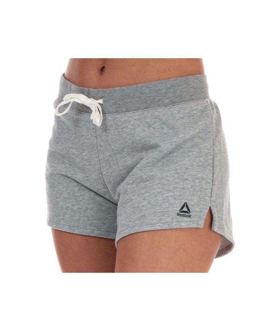 Image for Women's Reebok TE Simple Shorts in Grey Marl