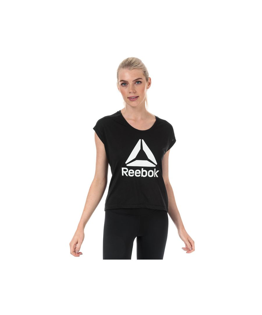Image for Women's Reebok Workout Ready Supremium 2.0 T-Shirt in Black