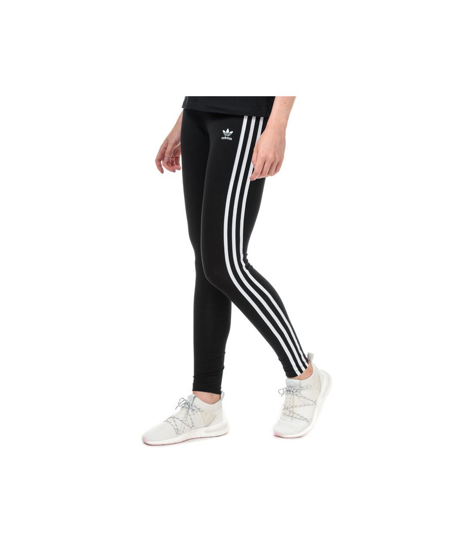 Image for Women's adidas 3-Stripes Leggings in Black