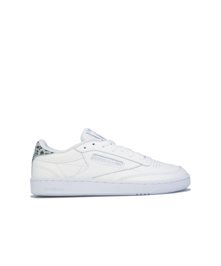 Image for Women's Reebok Classics Club C 85 Trainers in White silver