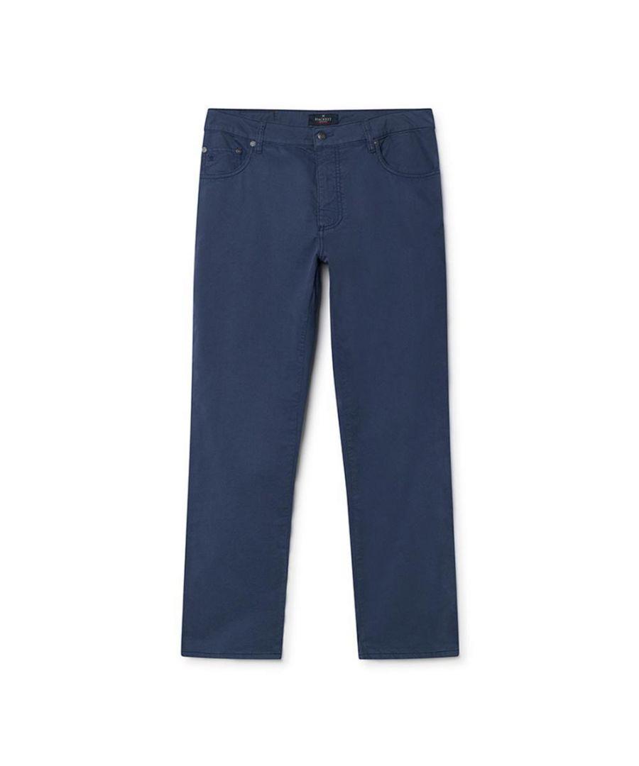 Image for Men's Hackett Trinity Trousers, 5 x Pocket in Aviator Blue