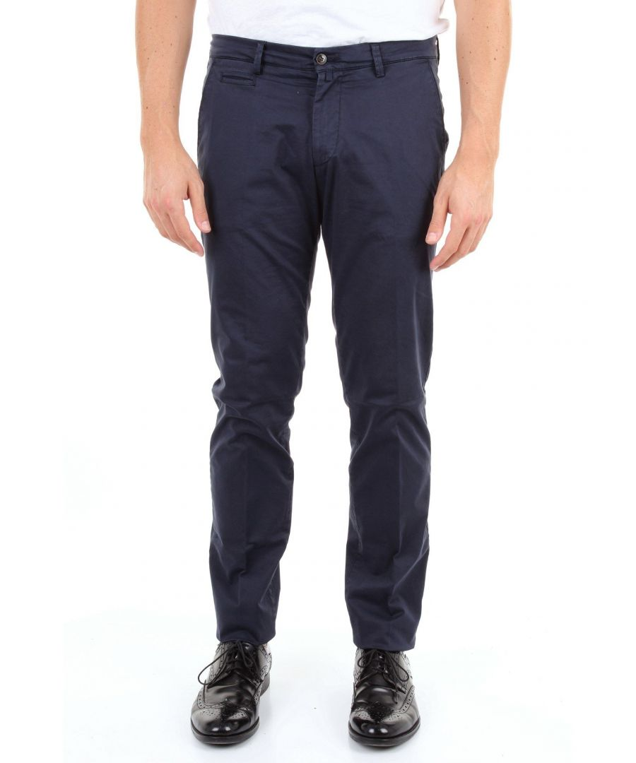 Image for BRIGLIA 1949 MEN'S BG053909BLU BLUE COTTON PANTS