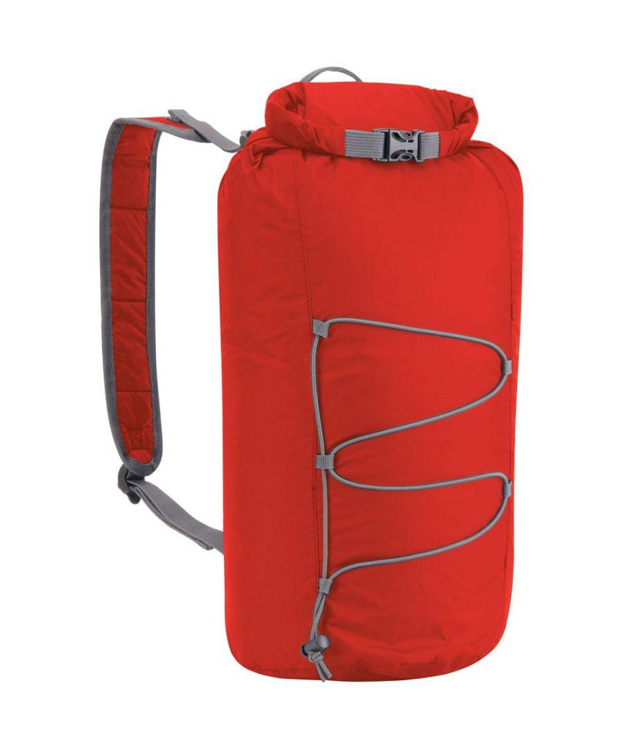 Image for Craghoppers 15L Packaway Waterproof Ripstop Nylon Tube Rucksack