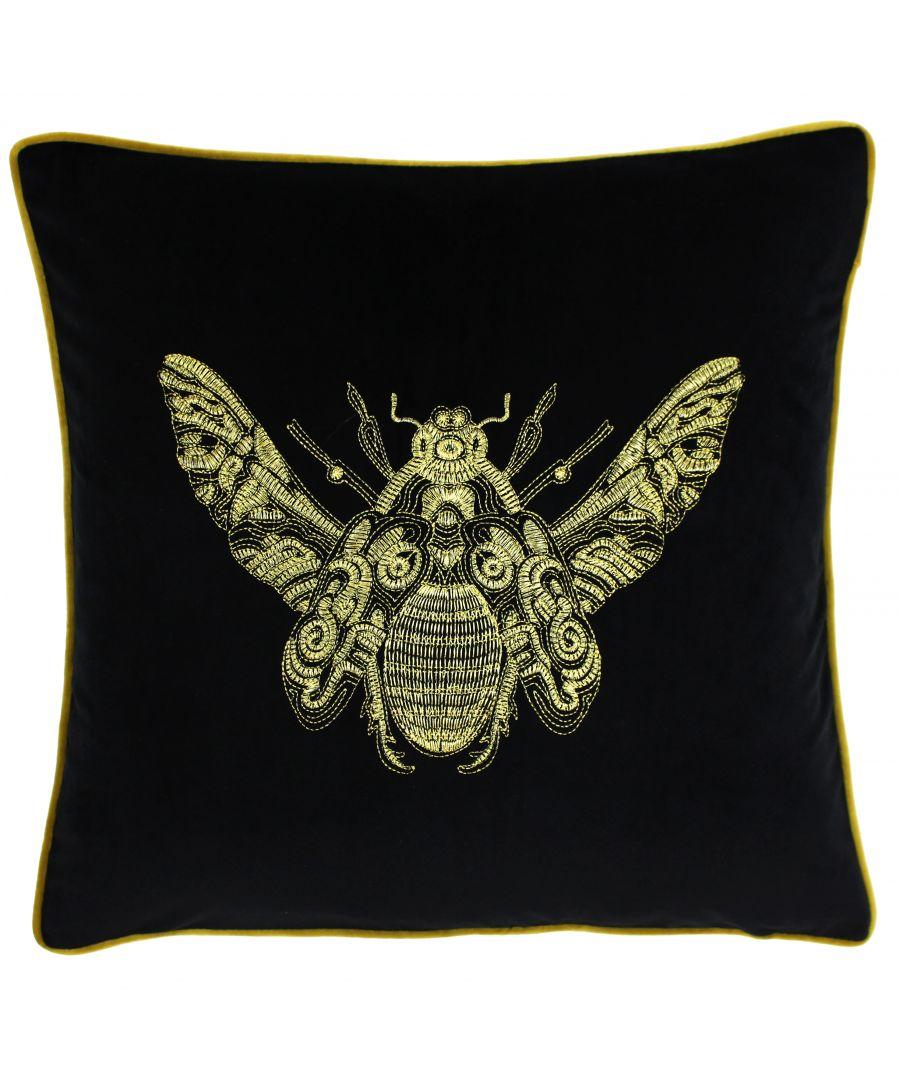 Image for Cerana 50X50 Poly Cushion Black