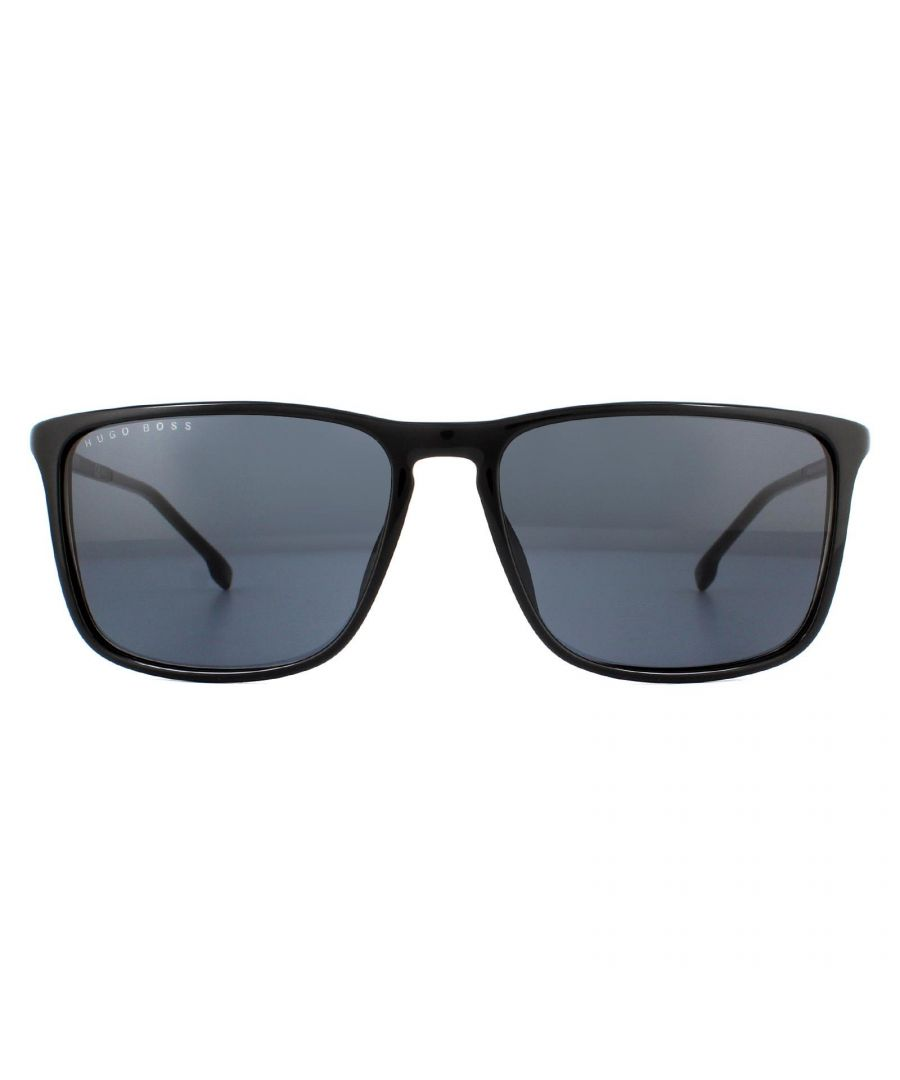 Image for Hugo Boss Sunglasses BOSS 1182/S 807 IR Black Grey Polarized